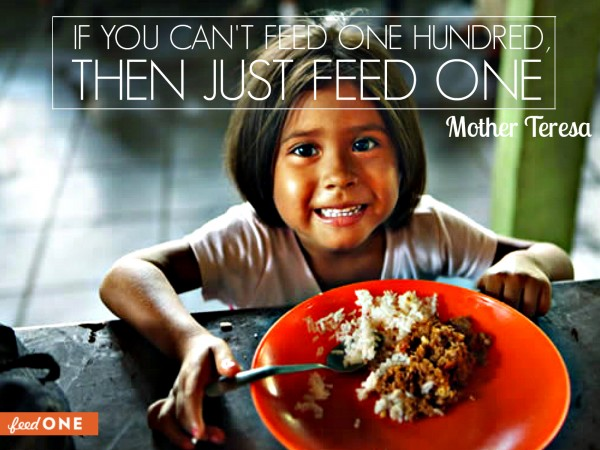 Feed One , food edcucation clothing, missions christian