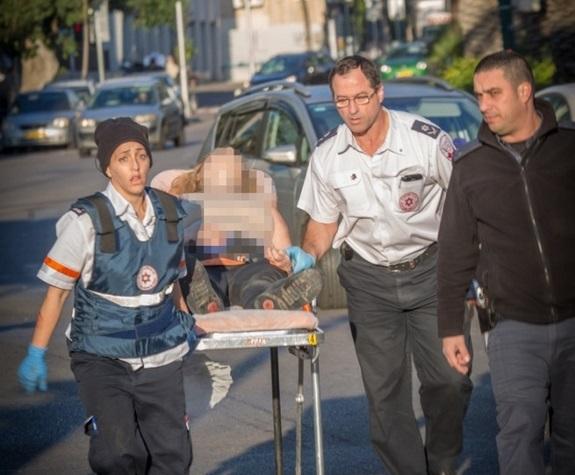 MDA responding to STABBING TERRORIST IN TEL AVIV