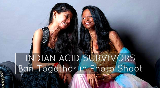 INdian Acid Victims together