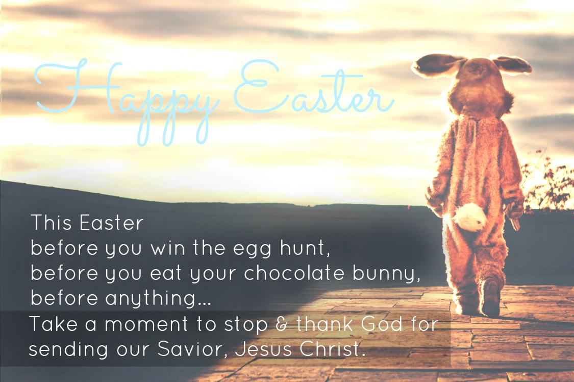 Easter Bunny Jesus 2015