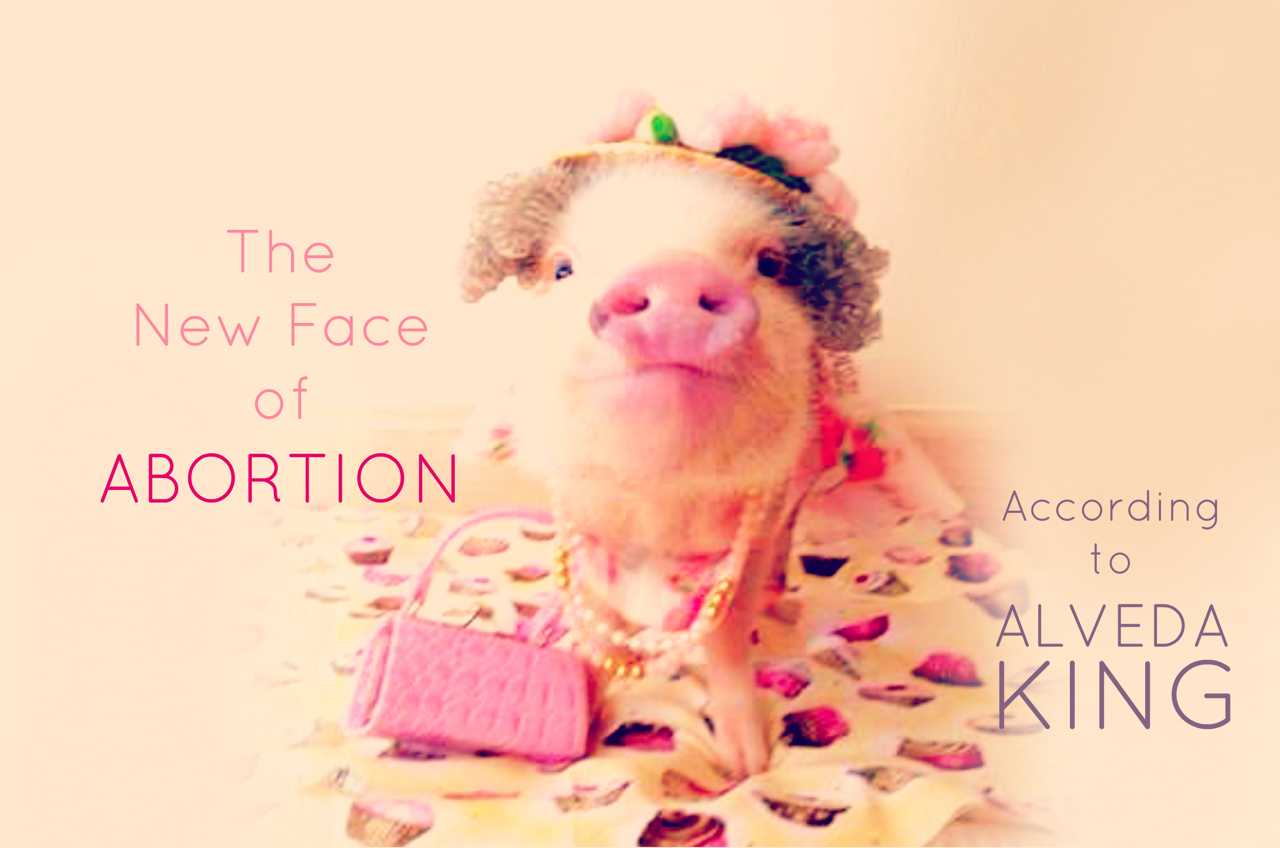 Planned Parenthood is Not Your Cute Pet Pig