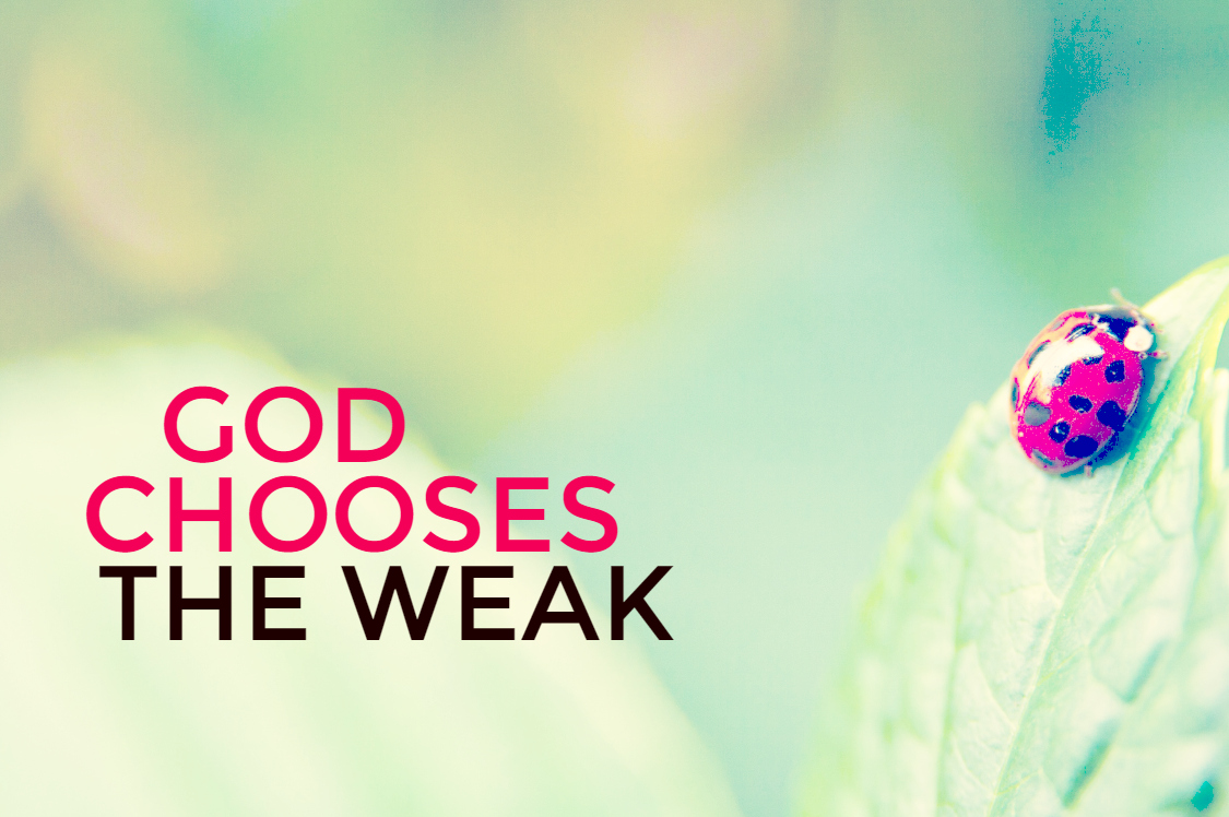 Karen S. - GOd Chooses the Weak