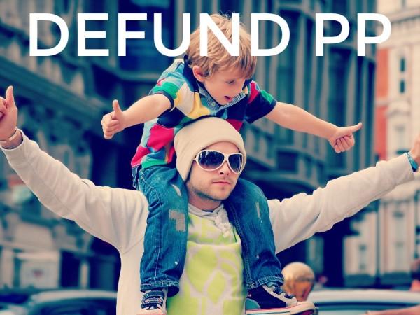 Defund PP- Photo